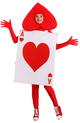 Ace of Hearts Adult Costume