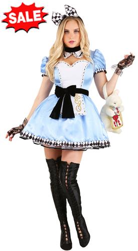 Adult Alluring Alice Dress