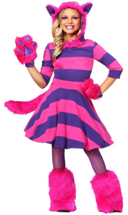 Child Cheshire Cat Costume for Girls