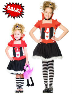 child queen of hearts dress