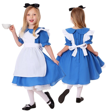 Deluxe Toddler Alice Costume 2T 4T