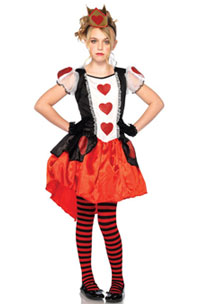 Child Queen Hearts Costume