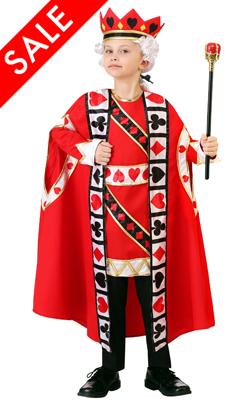 Kid's King of Hearts Costume
