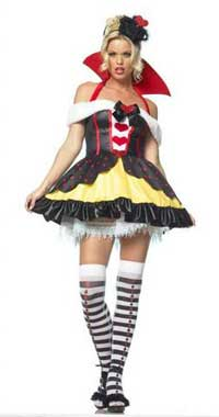 Leg Avenue Queen Of Hearts Costume