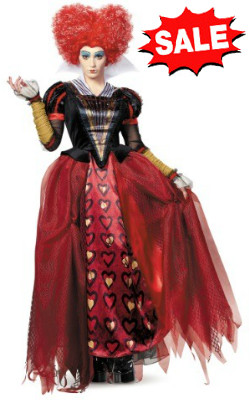 deluxe red queen costume