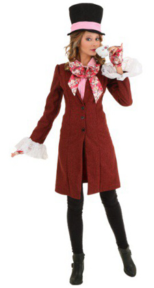 Plus Size Mad Hatter Costume for Women