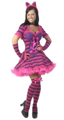 Women's Wonderland Cat Costume