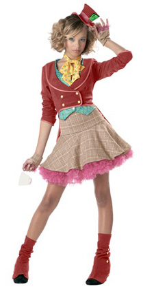 Teen Girl Mad Hatter Dress
