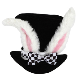 Women's White Rabbit Hat