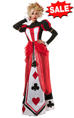 Women's Plus Size Queen of Hearts Costume